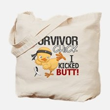 Carcinoid Cancer Survivor Chick 2.1 Tote Bag