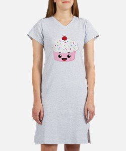 Kawaii Cupcake Women's Nightshirt