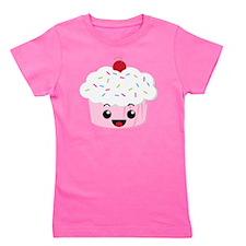 Kawaii Cupcake Girl's Tee