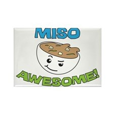 Miso Awesome! Rectangle Magnet
