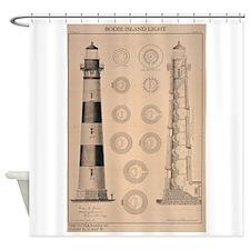 Bodie Island Shower Curtain