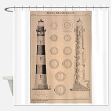 Bodie Island Shower Curtain