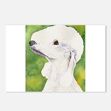 Bedlington Terrier Stuff Postcards (Package of 8)