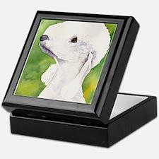 Bedlington Terrier Stuff Keepsake Box