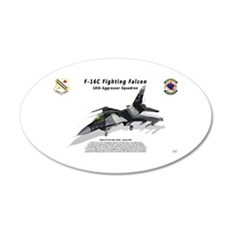 F-16C 18th AGRS Wall Decal