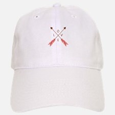 Love Heart Arrows Baseball Baseball Baseball Cap
