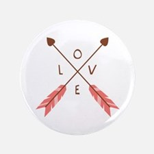"Love Heart Arrows 3.5"" Button"
