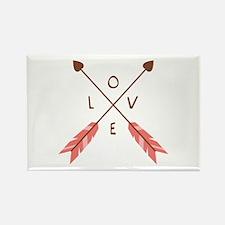 Love Heart Arrows Magnets