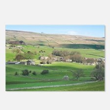 dales farming Postcards (Package of 8)