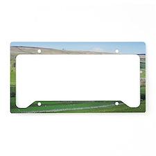 dales farming License Plate Holder