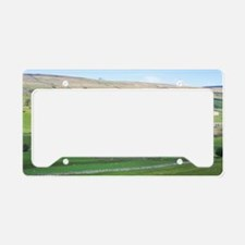 dales farming License Plate Holder