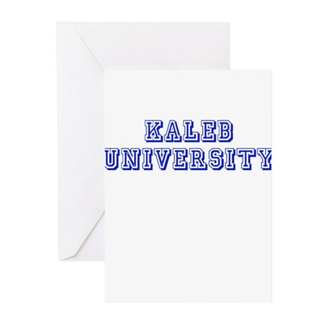 Kaleb University Greeting Cards (Pk of 10)