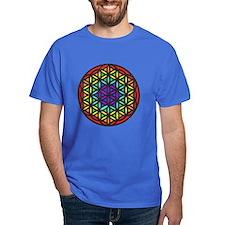 Flower of Life Chakra2 T-Shirt