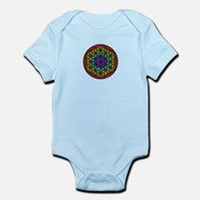 Flower of Life Chakra2 Infant Bodysuit