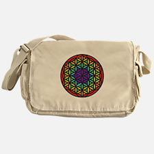 Flower of Life Chakra2 Messenger Bag