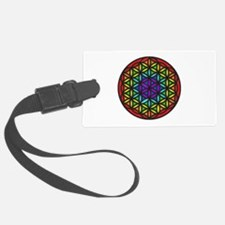 Flower of Life Chakra2 Luggage Tag
