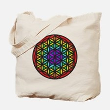 Flower of Life Chakra2 Tote Bag