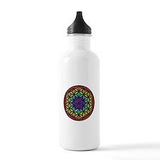 Flower of Life Chakra2 Water Bottle