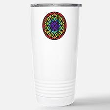 Flower of Life Chakra2 Travel Mug