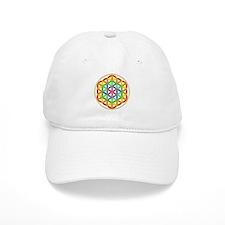 Flower of Life Chakra Baseball Cap