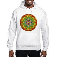 Flower of Life Chakra1 Hoodie
