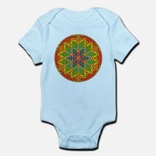 Flower of Life Chakra1 Infant Bodysuit