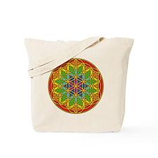 Flower of Life Chakra1 Tote Bag