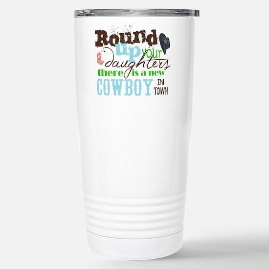 new cowboy Travel Mug