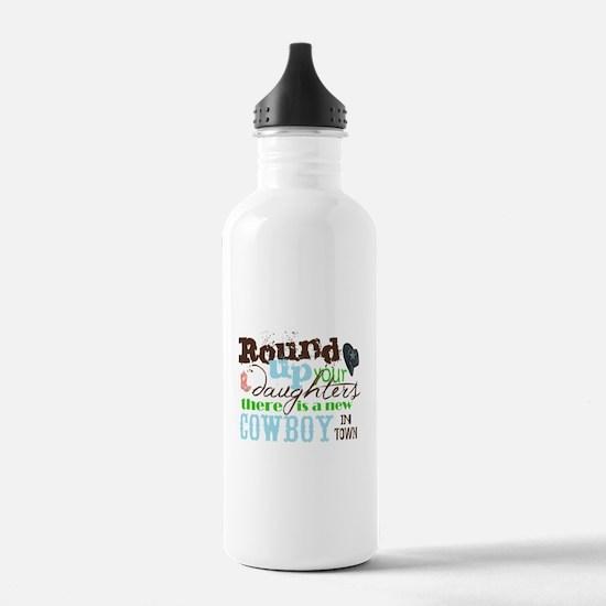 new cowboy Water Bottle