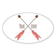 True Love Arrows Decal