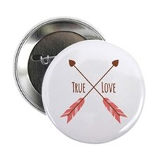 "True Love Arrows 2.25"" Button"