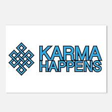 Karma Happens Postcards (Package of 8)