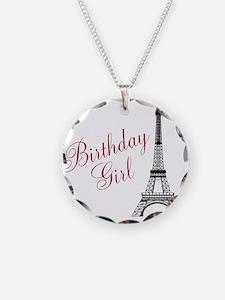 Birthday Girl Eiffel Tower Necklace