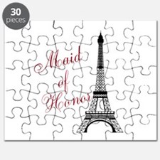 Maid of Honor Eiffel Tower Puzzle