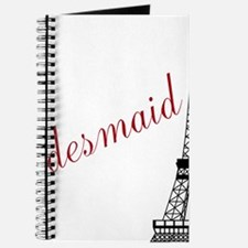 Bridesmaid Eiffel Tower Journal