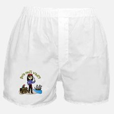 Light Pirate Boxer Shorts