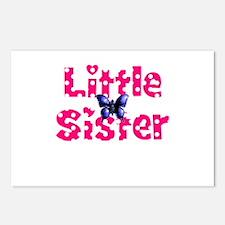 Little Sister Purple Butterfly Postcards (Package