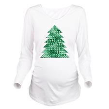 Beautiful Festive Cr Long Sleeve Maternity T-Shirt