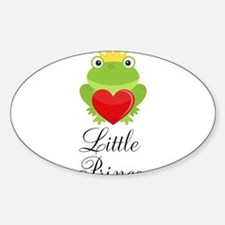 Little Prince Frog Prince Decal