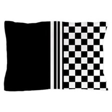 Stylish designer Stripes and checks Pillow Case