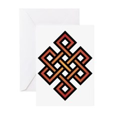 Endless Knot Greeting Card