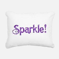 Sparkle! Logo Rectangular Canvas Pillow