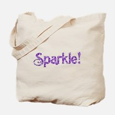 Sparkle! Logo Tote Bag
