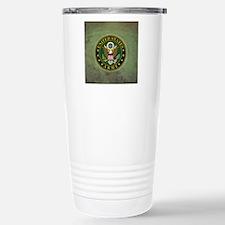 Army Seal Green Grunge Travel Mug