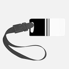 Stylish Black and white modern Luggage Tag