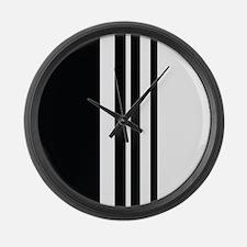 Stylish Black and white modern Large Wall Clock