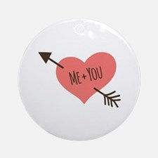 Me and You Ornament (Round)