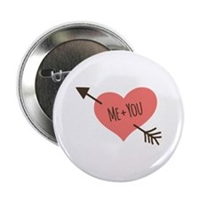 "Me and You 2.25"" Button"