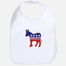 Florida Democrat Donkey Bib