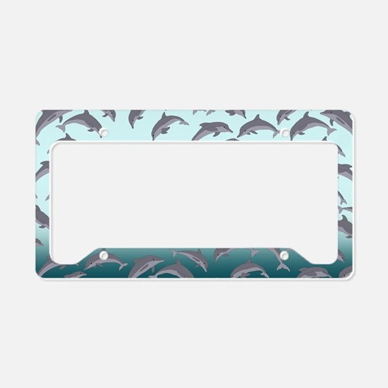 Dolphins License Plate Holder